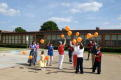 Releasing Balloons at Tom C Gooch Elementary