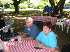 Dan and Mary at Picnic Lunch