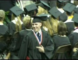 Justin Hunter High School Graduation 2006