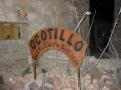 Ocotillo Restaurant sign
