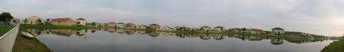 Monaco Cove Lake Panorama