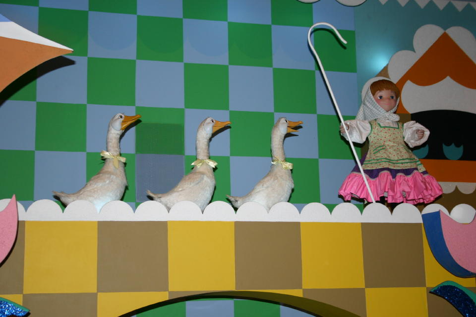 Mother Goose in Small World