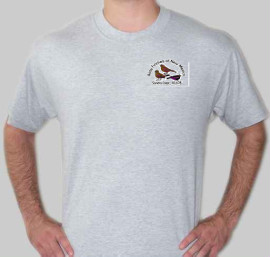 Gray shirt small logo